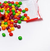 Multicolored and tasty little candies — Stock Photo