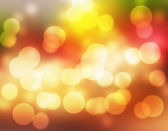 Red and yellow bokeh picture — Stock Photo