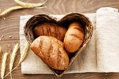 Pagnotte di pane — Foto Stock