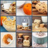 Frühstück-einstellungen — Stockfoto