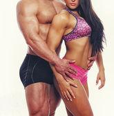 Muscle couple — Stock Photo