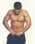 Image of muscle man — Stock Photo