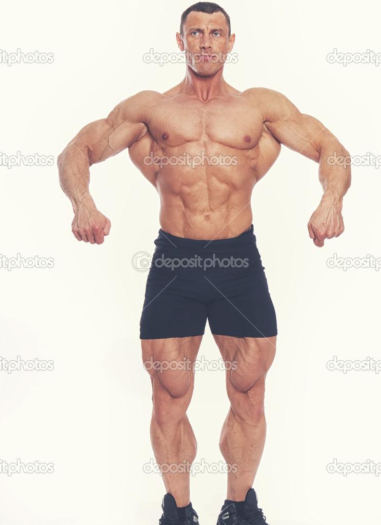 有肌肉的男人 — 图库照片08fxquadro#43743017