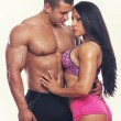 Muscle couple — Stock Photo