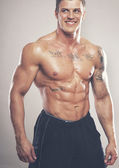 Muscle man — Stockfoto