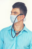 A medical student — Stock Photo