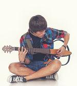 Rockový umělec — Stock fotografie