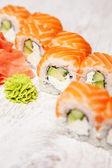 Sushi saumon — Photo