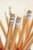Wooden pencils — Stock Photo