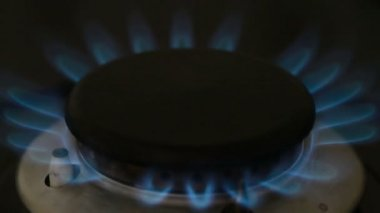 Gas ring — Stockvideo