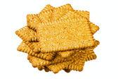 Wheat cookies — Stock Photo