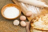 Fresh pita bread — Foto Stock