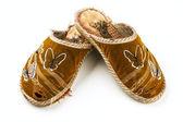 Female slippers — Stock Photo