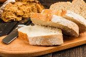 Pan blanco fresco — Foto de Stock