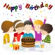 Royalty-Free Stock Vector Image: Birthday party
