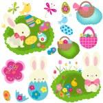 Easter set — Stock Photo #18909045