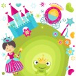Royalty-Free Stock Vector Image: Princess