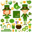 Stock Vector: St patrick`s day