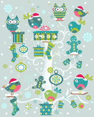 Advent calendar — Stock Vector