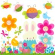Easter background — Stock Vector #19267101