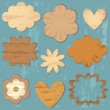 Royalty-Free Stock Imagen vectorial: Vintage design elements