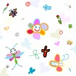 Background for kids — Stockvektor #20035433