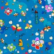 Background for kids — 图库矢量图片