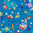 Vector de stock : Background for kids