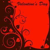 Valentine design card — Stock Vector