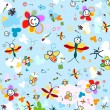 Background for kids — Imagens vectoriais em stock