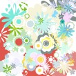 Flowers background — Stock Vector #20113143