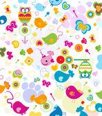 Design fir kids — Stock Vector