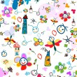 Vetorial Stock : Background for kids