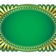 Royalty-Free Stock Vector Image: Oval frame