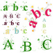 Green abc — Stockvector #20244473