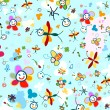 Stockvector : Background for kids