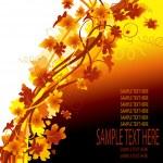 Autumn background — Stock Vector #20426201