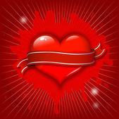 Valentine design — Stock vektor