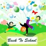Back to school — Stock Vector #21068671