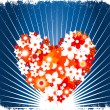 Stock Vector: Valentines background