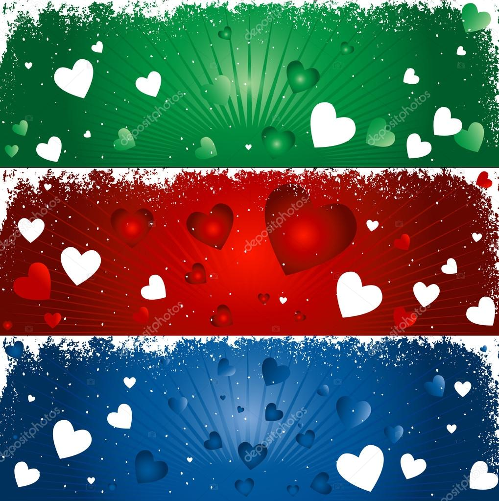 Hearts background for valentines day  Stock Vector #21069409