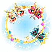 Mariposas — Vector de stock