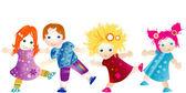 Воспитание ребенка — Cтоковый вектор
