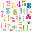 colorful numbers set — Stock Vector #22577021