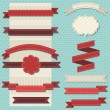 Vintage ribbons - Imagen vectorial