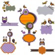 Halloween frames - Imagen vectorial