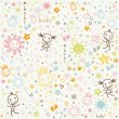 Baby background — Stock Vector #23347170