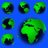 星球地图 — 图库矢量图片