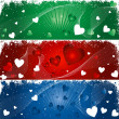 Royalty-Free Stock Immagine Vettoriale: Hearts background