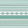 Lace ribbons — Stock Vector #26406915